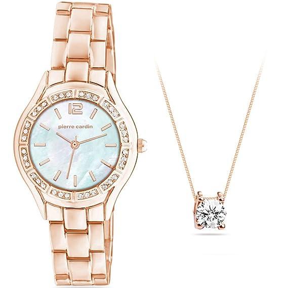 Pierre Cardin Reloj pcx6555l289 Set de regalo joyas mujer