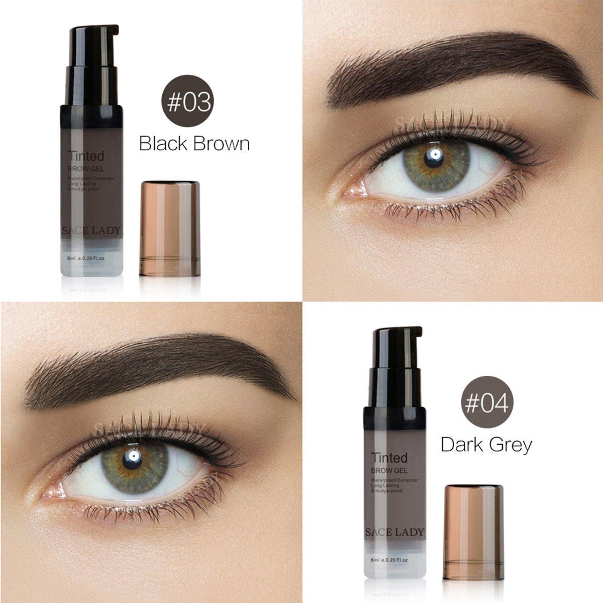 Amazon Sace Lady Tinted Eyebrow Gel Long Lasting Waterproof
