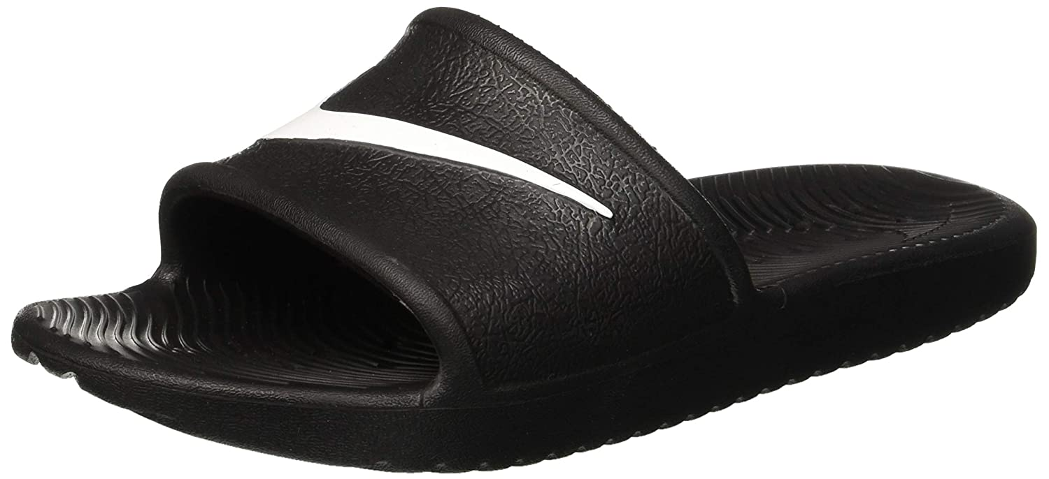 2b789778d65a3 Nike Womens Kawa Shower Black White Synthetic Sandals 5 US  Buy Online at  Low Prices in India - Amazon.in