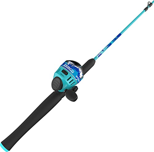 Zebco Splash Blue Spinning Combo