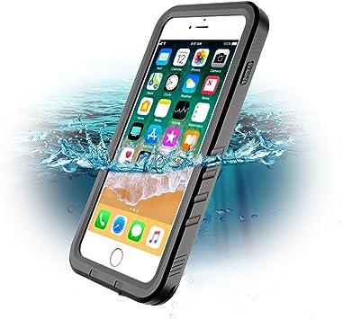 Funda Impermeable iPhone 7 Plus, SPORTLINK Waterproof IP 68 Apple ...
