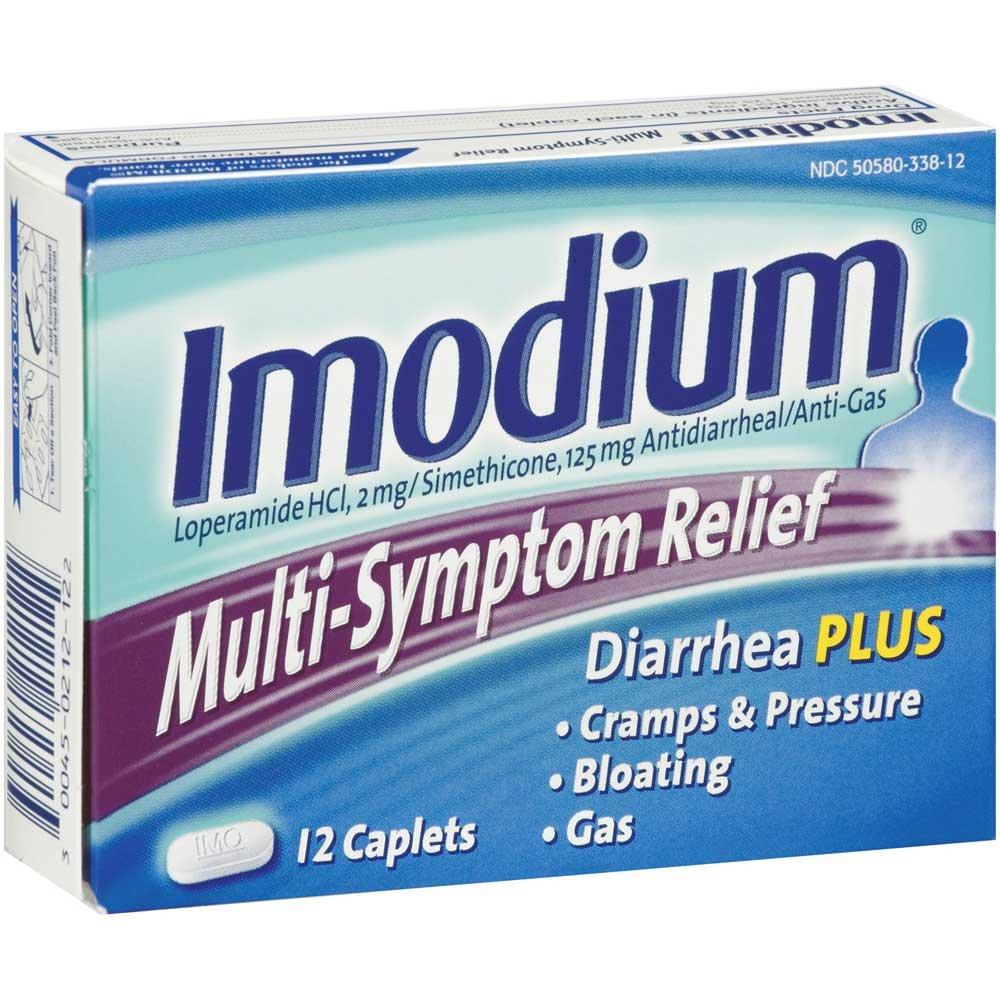 Imodium Multi-Symptom Relief Caplets 12 ct -- 48 per case. by Johnson & Johnson
