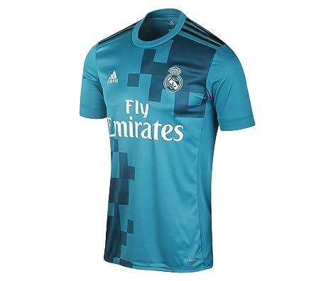 2a8cb0b68295e Adidas Real Madrid 17 18 3Rd - Playera réplica para Hombre  Amazon.com.mx   Deportes y Aire Libre