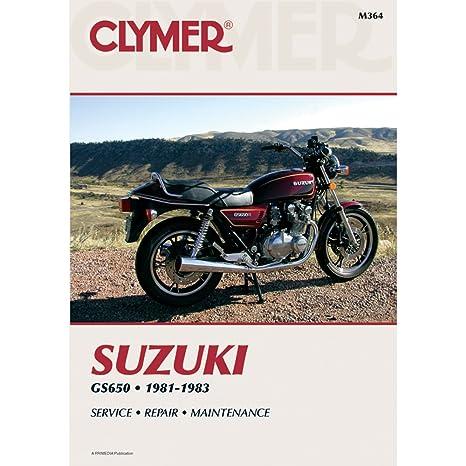 amazon com clymer repair manual m364 manufacturer electronics rh amazon com suzuki gs 650 g service manual 1981 suzuki gs 650 service manual
