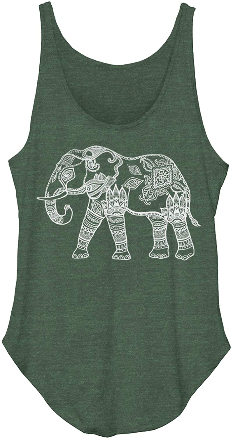 CHIN UP Zen Elephant Girls Graphic T Shirt