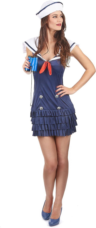 Disfraz sexy de marinera: Amazon.es: Juguetes y juegos