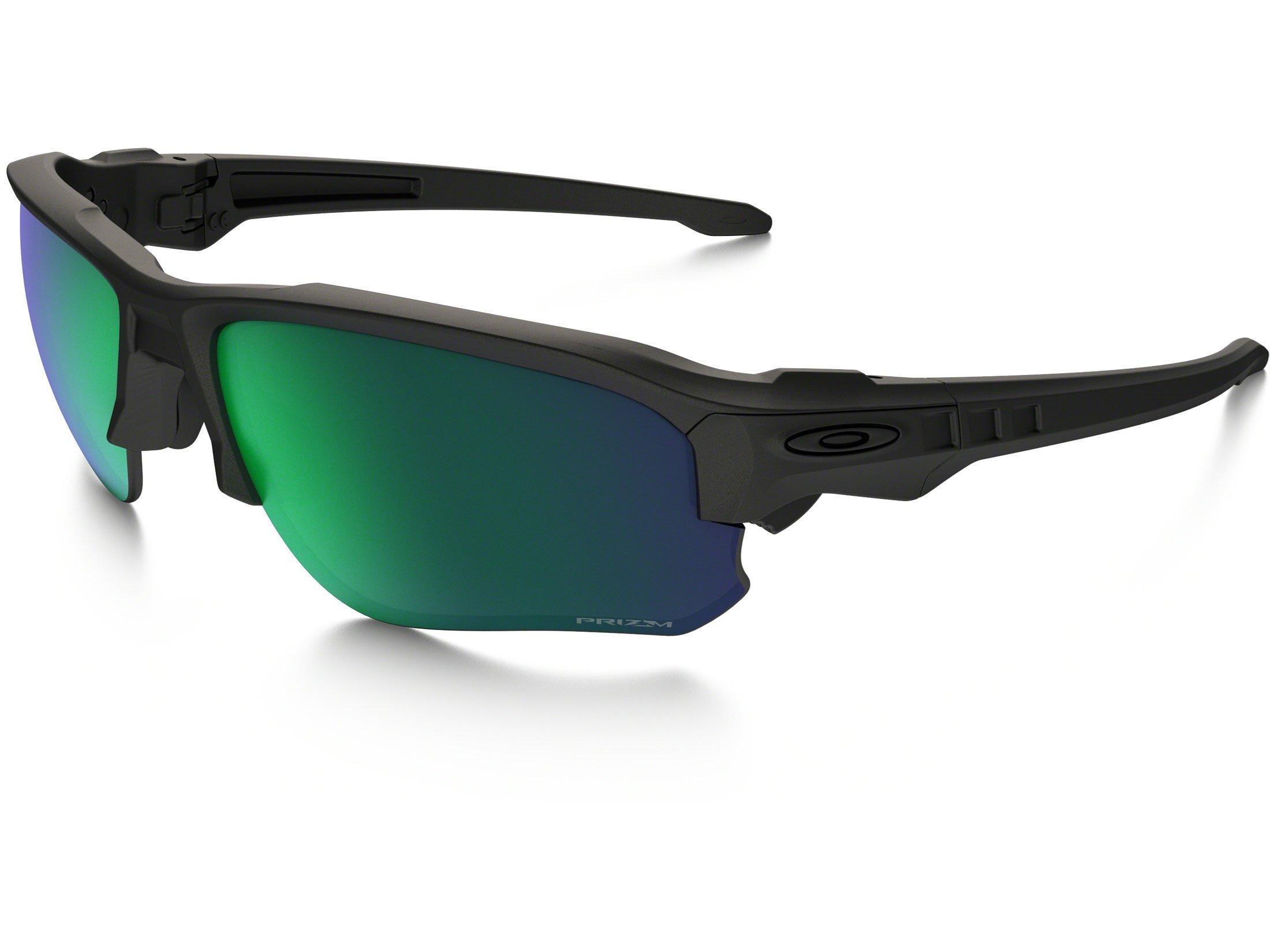 Oakley - Speed Jacket - Matte Black Frame-Prizm Maritime Lenses by Oakley