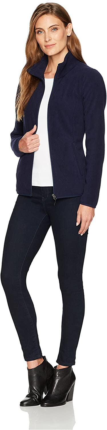Essentials Womens Full-Zip Polar Fleece Jacket