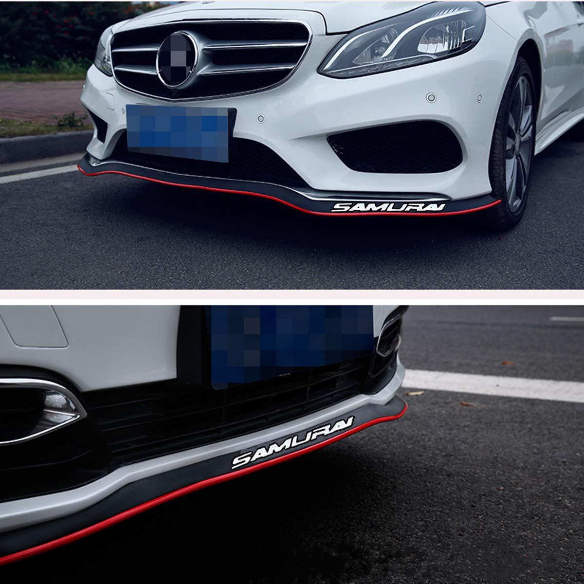 100/% waterproof protection Black Blue Edge HengJia Auto Parts 2.5m//8.2ft Car Rubber Bumper Lip,Front Bumper Lip Front Lip Side Skirt Carbon Fiber Spoiler