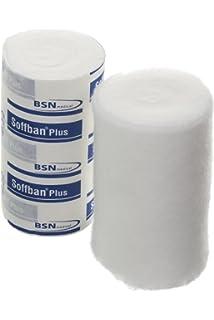 7.5cm x 4.5m Black Steroban Cohesive Bandage 12 Rolls Horse and Vet Wrap