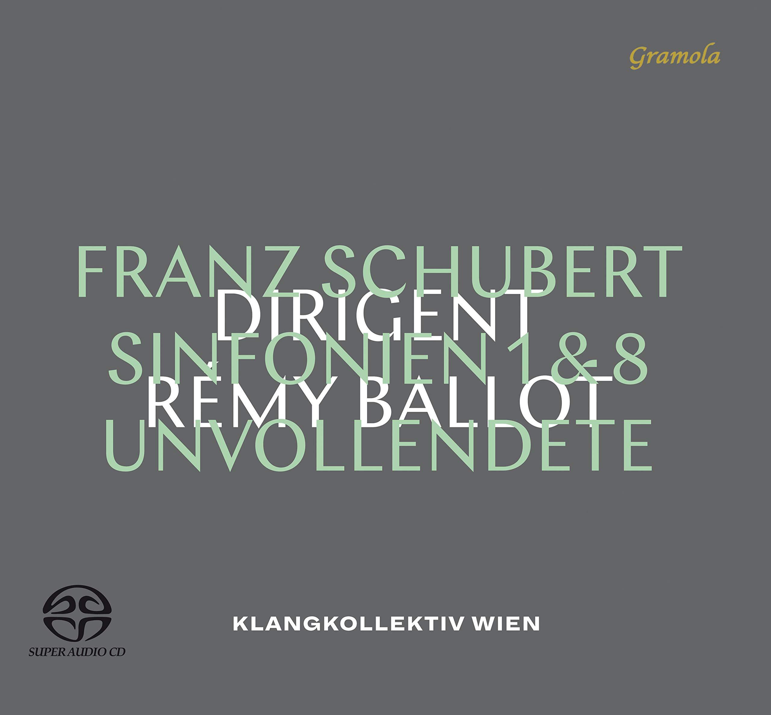 SACD : Schubert - Symphonies 1 & 8 (Hybrid SACD)