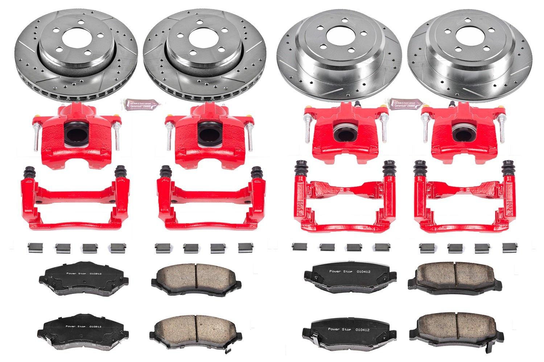 Z23 Evolution Rear Carbon-Fiber Ceramic Brake Pads Power Stop Z23-1348