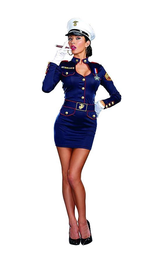 Amazon.com Dreamgirl Womenu0027s Take Charge Marge Military Captain Costume Clothing  sc 1 st  Amazon.com & Amazon.com: Dreamgirl Womenu0027s Take Charge Marge Military Captain ...
