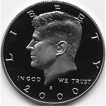 Deep Cameo! 2000-S Silver Proof Kennedy Half Dollar