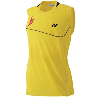 80f4ee1830541e Yonex 10000 Exclusive Performance Men s Badminton Sleeveless Shirt YCSports  Limited Edition (Yellow Lin Dan Exclusive