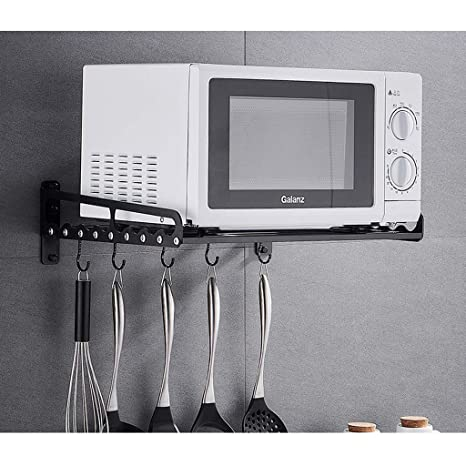 RUNWEI Horno de microondas Rack Mueble de Cocina de Pared ...