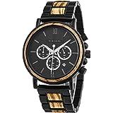 BOBO BIRD 2021 New Men's Wrist Watches Stylish Wood Watch Analog Quartz Casual Wooden Wrist Watch with Gift Box