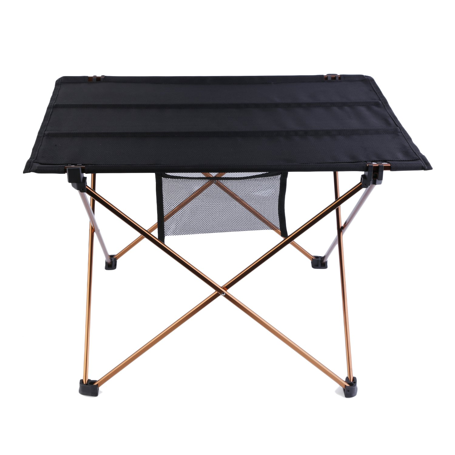 Table in a bag amazon trekology portable camping table for Dining table weight