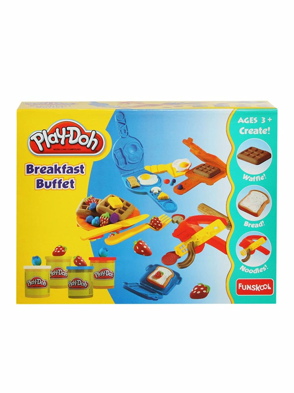 Buy Funskool Playdoh Breakfast Buffet Online at Low Prices in India ...