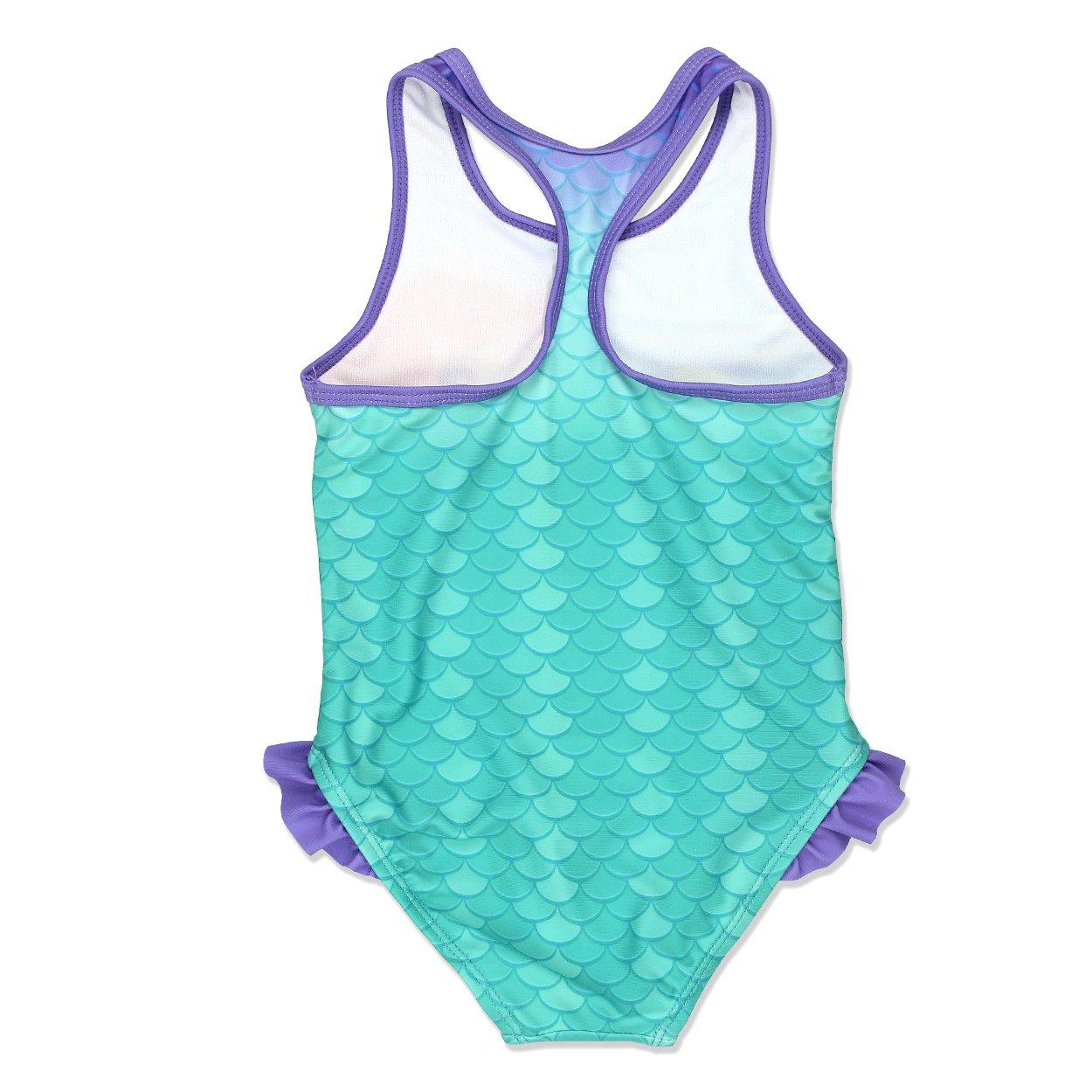 Toddler//Little Kid The Little Mermaid Ariel Girls Swimwear Swimsuit