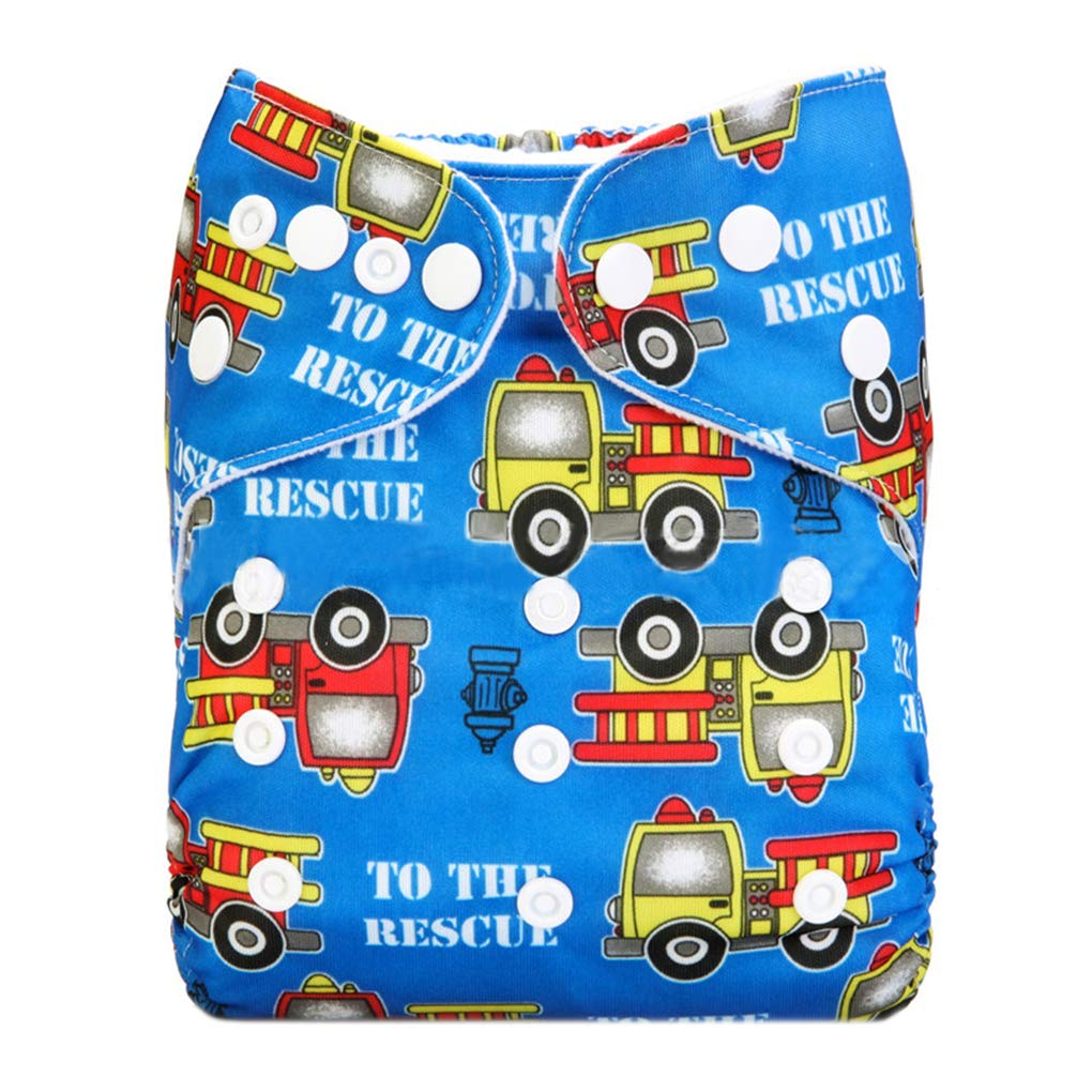 Cartoon Pattern Washable Reusable Nappies Leakage Proof Breathable TPU Waterproof Diaper Baby Pants