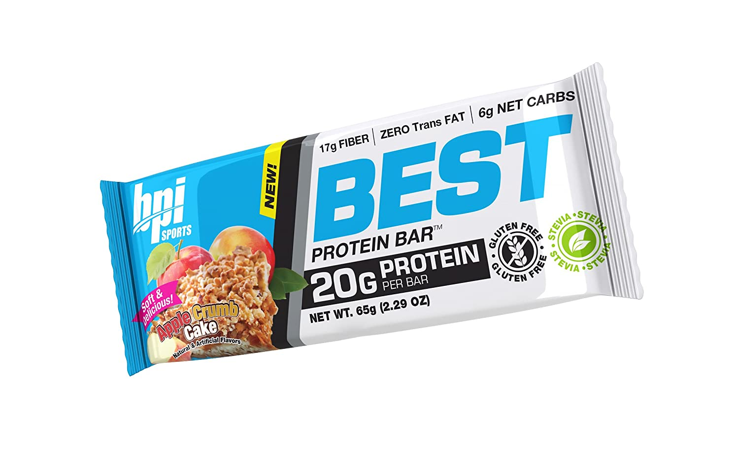 Amazon.com: BPI Sports Best Protein Bar, Apple Crumb Cake, 12 Count   20g  Ideal Protein Mix: Health U0026 Personal Care