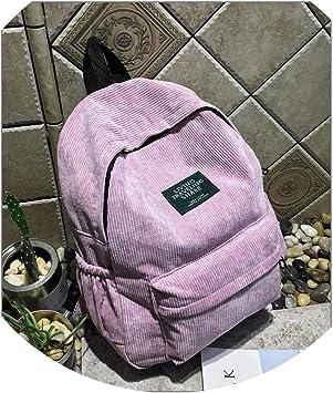 Rhfemd Fashion Women Lady Anti-Theft Rucksack School Leather Girls Backpack Travel Handbag Shoulder Bag
