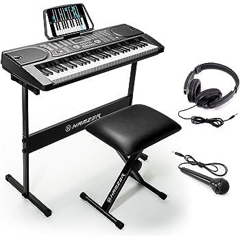 amazon com rockjam rj761 sk key electronic interactive teaching
