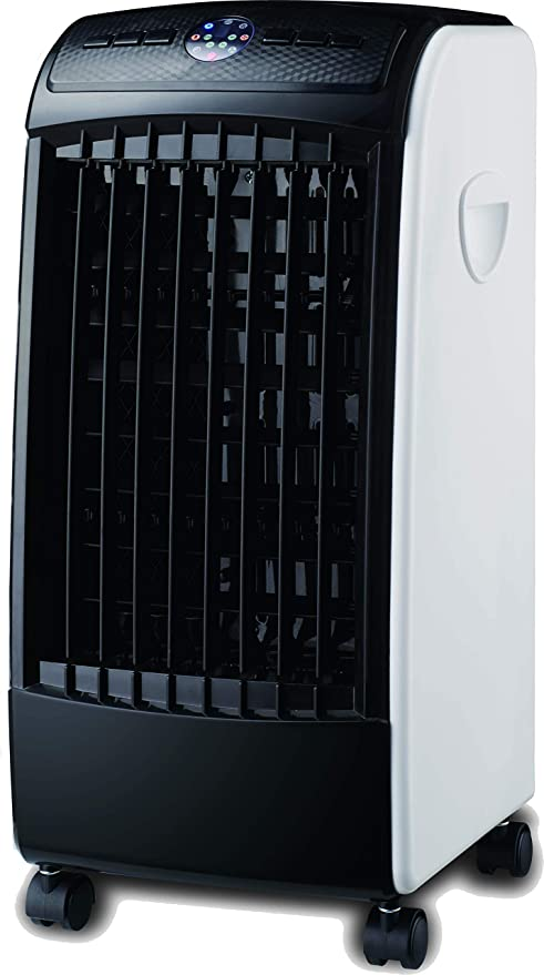 ABDC CLIMATIZADOR Ventilador Digital PINGÜINO FRÍO 80 W - PORTÁTIL Todo EN UNO - Color Blanco Y Negro: Amazon.es: Hogar