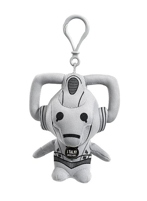 Underground Toys Doctor Who - Peluche de hombre cibernético (llavero, con voz y sonido, en inglés)