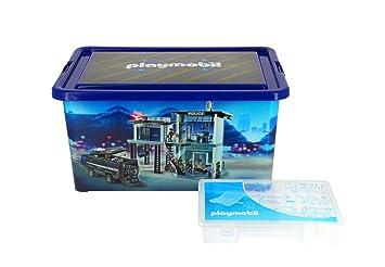 Playmobil – 064671 – Gran Caja de almacenaje 23 L + Caja con divisiones