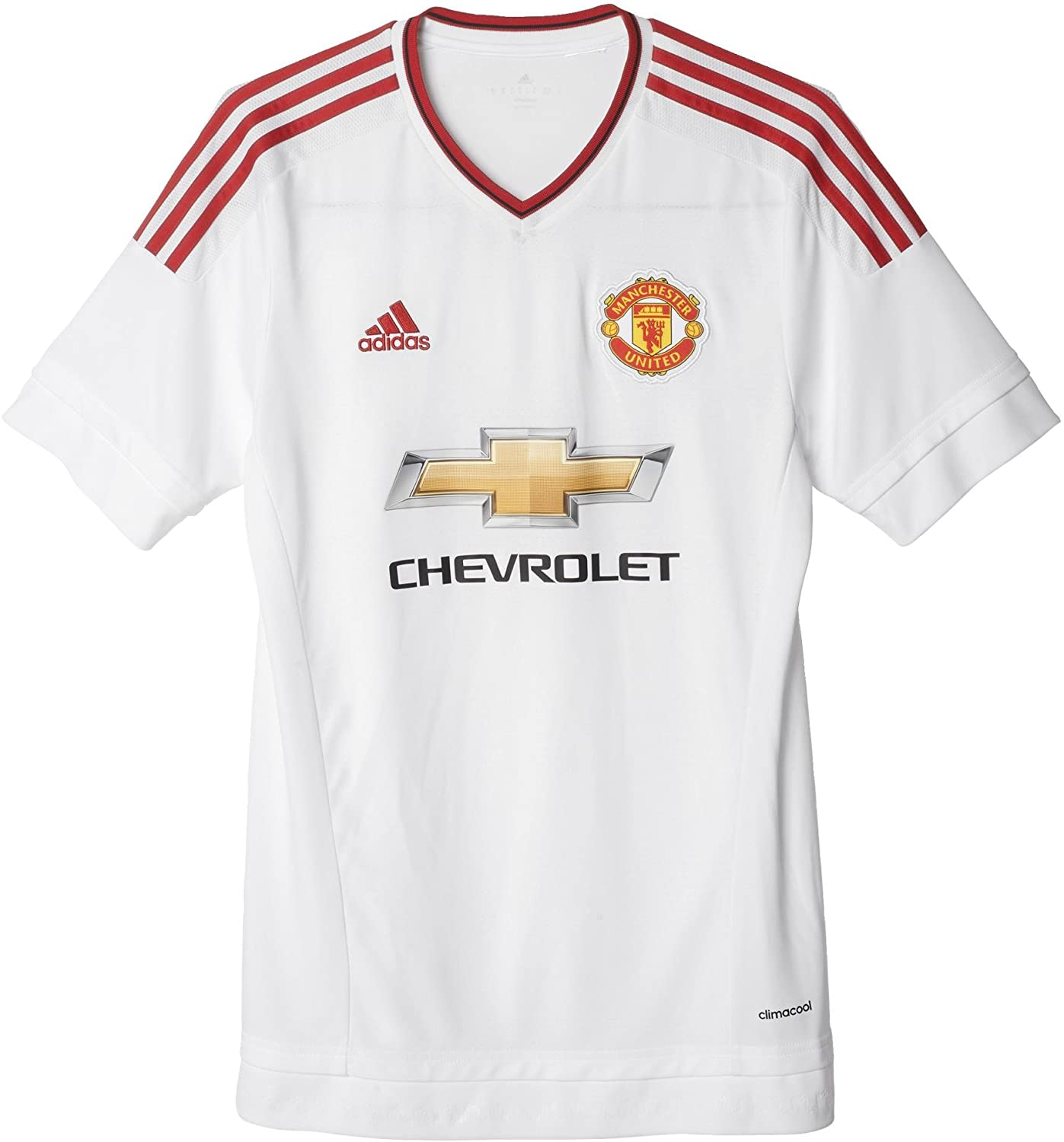 adidas Manchester United FC Away Jersey White//REARED