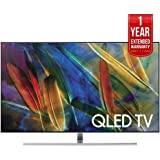 Samsung Flat 75-Inch 4K Ultra HD Smart QLED TV (QN75Q7FAM) with 1 Year Extended Warranty