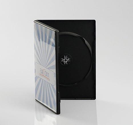 Bulk - Set de cajas dobles para CD/DVD (50 unidades, 14 mm, con bolsillo transparente para carátula): Amazon.es: Electrónica