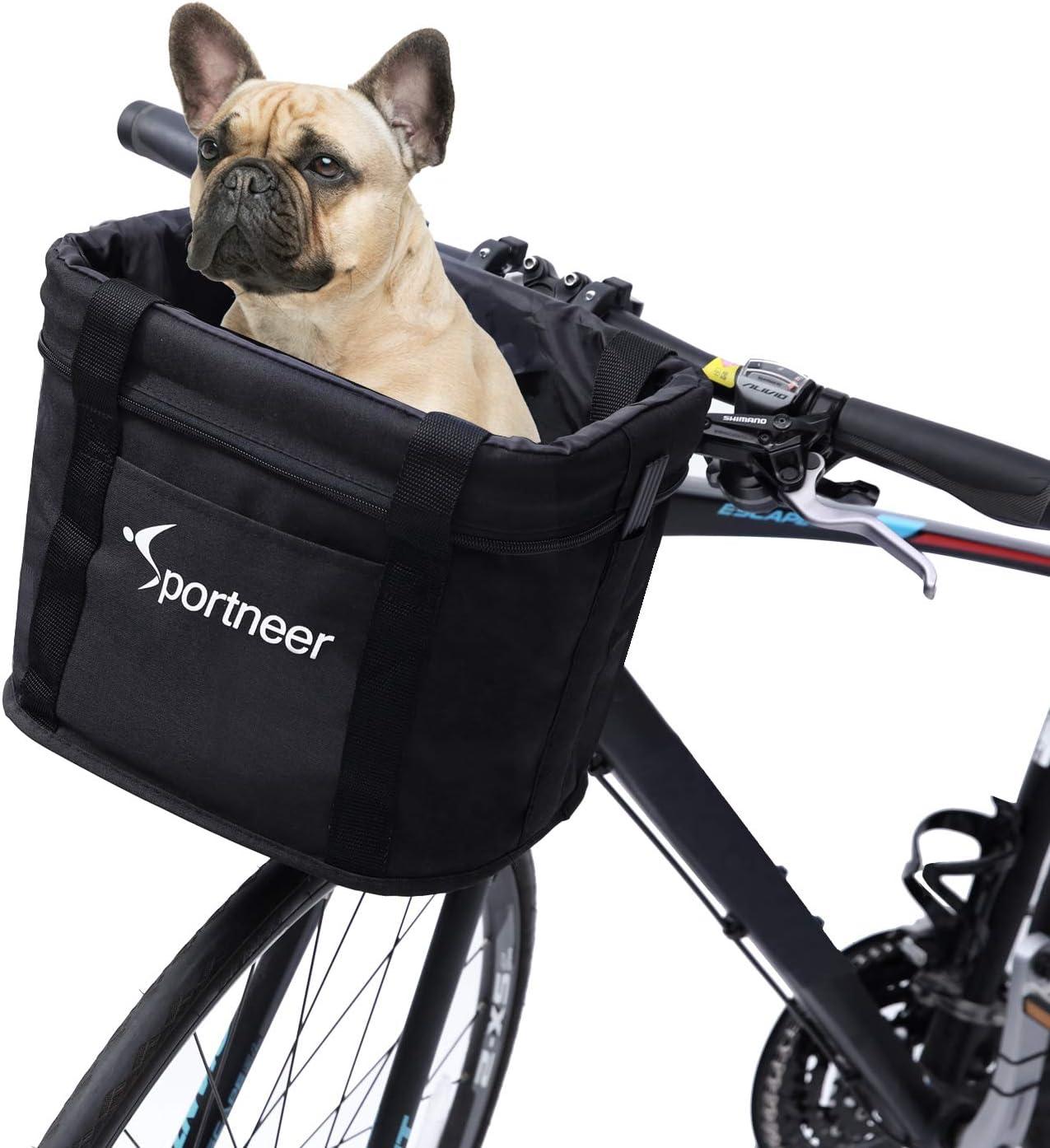 Retro Bike Fron Basket Bicycle Rattan Handlebar Cargo Shopping Camping Box US