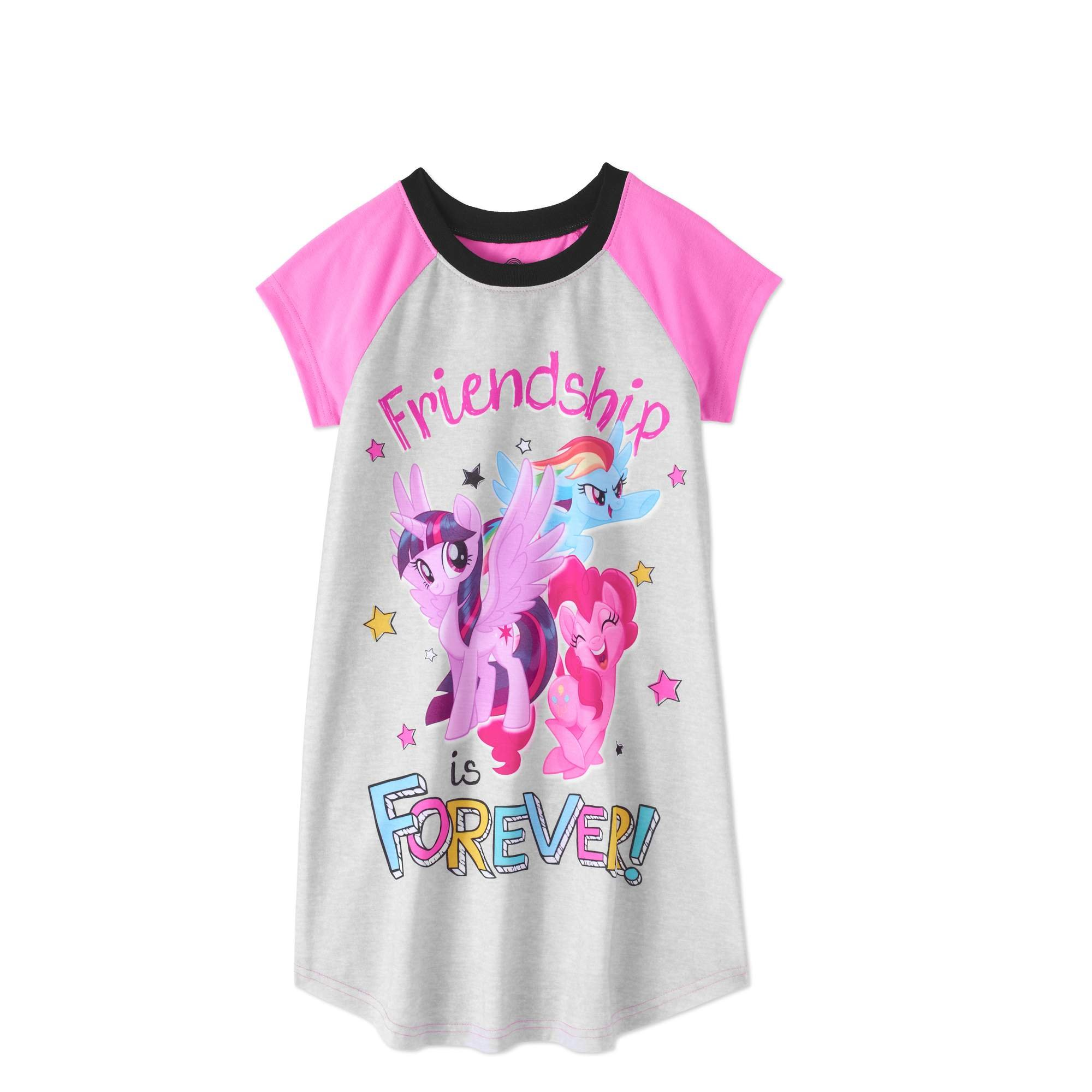 AME Forever Friendship My Little Pony Nightgown XS 4-5