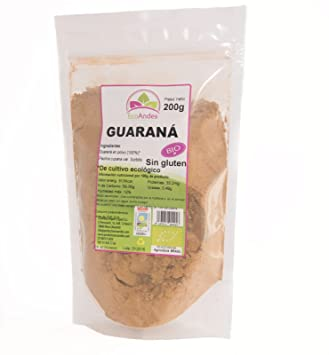 Guaraná en Polvo - Ecológico Brasil 200gr: Amazon.es: Salud ...