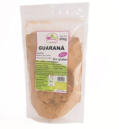 Guaraná en Polvo – Ecológico Brasil 200gr