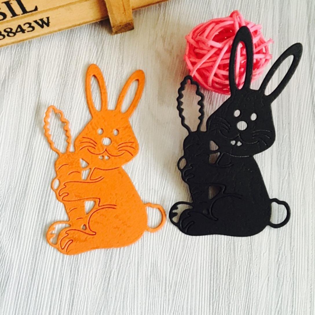 Rabbits LIYUDL Metal Cutting Dies Stencil Template Mould Stencil Cut Dies For DIY Scrapbook Album Paper Card Craft Embossing Decoration