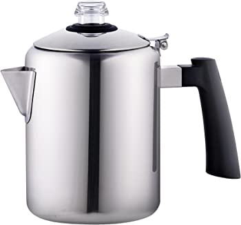 Cook N Home Polished 8 Cup Coffee Maker