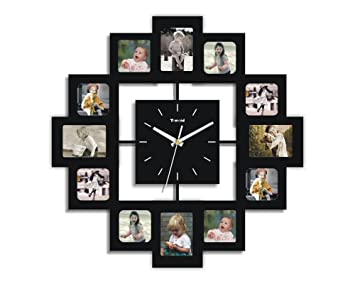 Creative Motion 12 Photo Frame And Clock Design Inspirations
