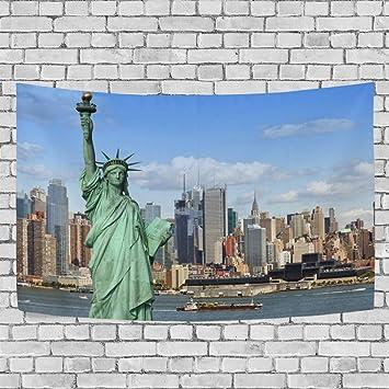 Jstel New York Freiheitsstatue Wandbehang Dekoration Fur Wohnzimmer