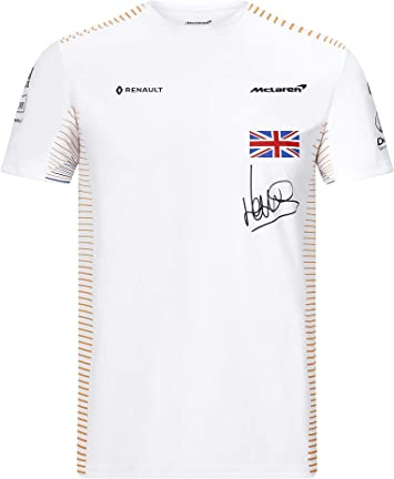 McLaren Official Formula 1 - Colección Merchandise 2020 - Camiseta del Equipo Lando Norris - Hombre - Blanco - Talla XS a XXL: Amazon.es: Deportes y aire libre
