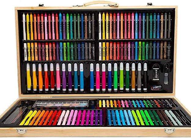 Set de Arte 180 Piezas de Estudio de Arte para niños para Colorear niños lápiz lápices