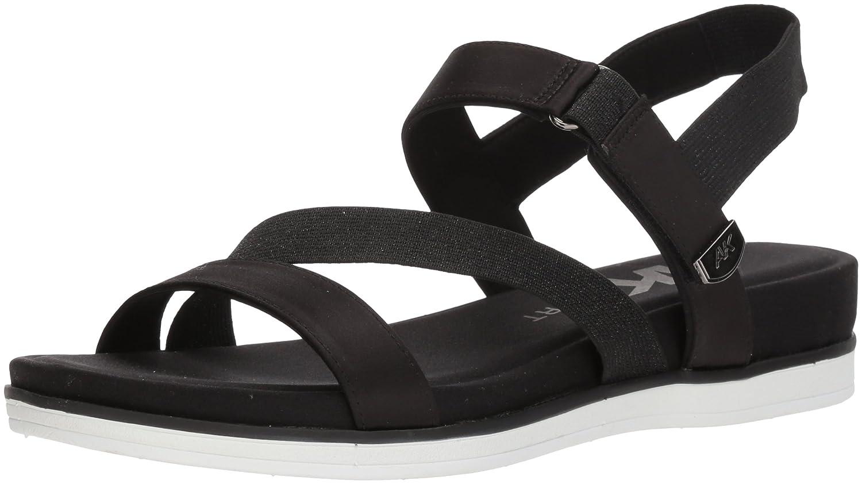 Anne Klein Women's Nolita Sport Sandal B078H7ZJ74 10 B(M) US|Black Fabric