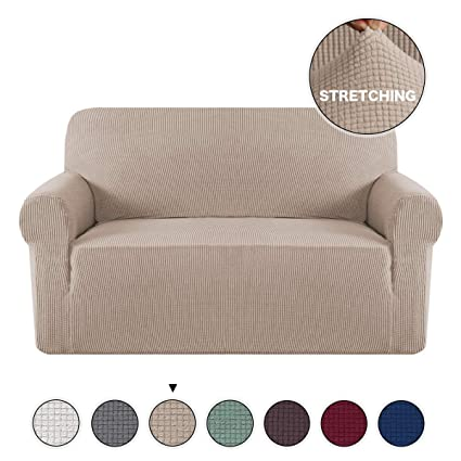Astonishing Turquoize Loveseat Slipcover 1 Piece Spandex Sofa Cover Stretch Furniture Slip Covers For Sofa And Loveseat Form Fit Sofa Cover Machine Washable Ncnpc Chair Design For Home Ncnpcorg