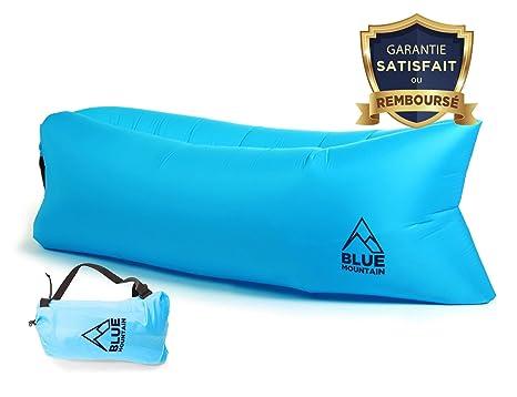 ⭐ [bluemountain®] - Sofá hamaca hinchable Premium alta ...
