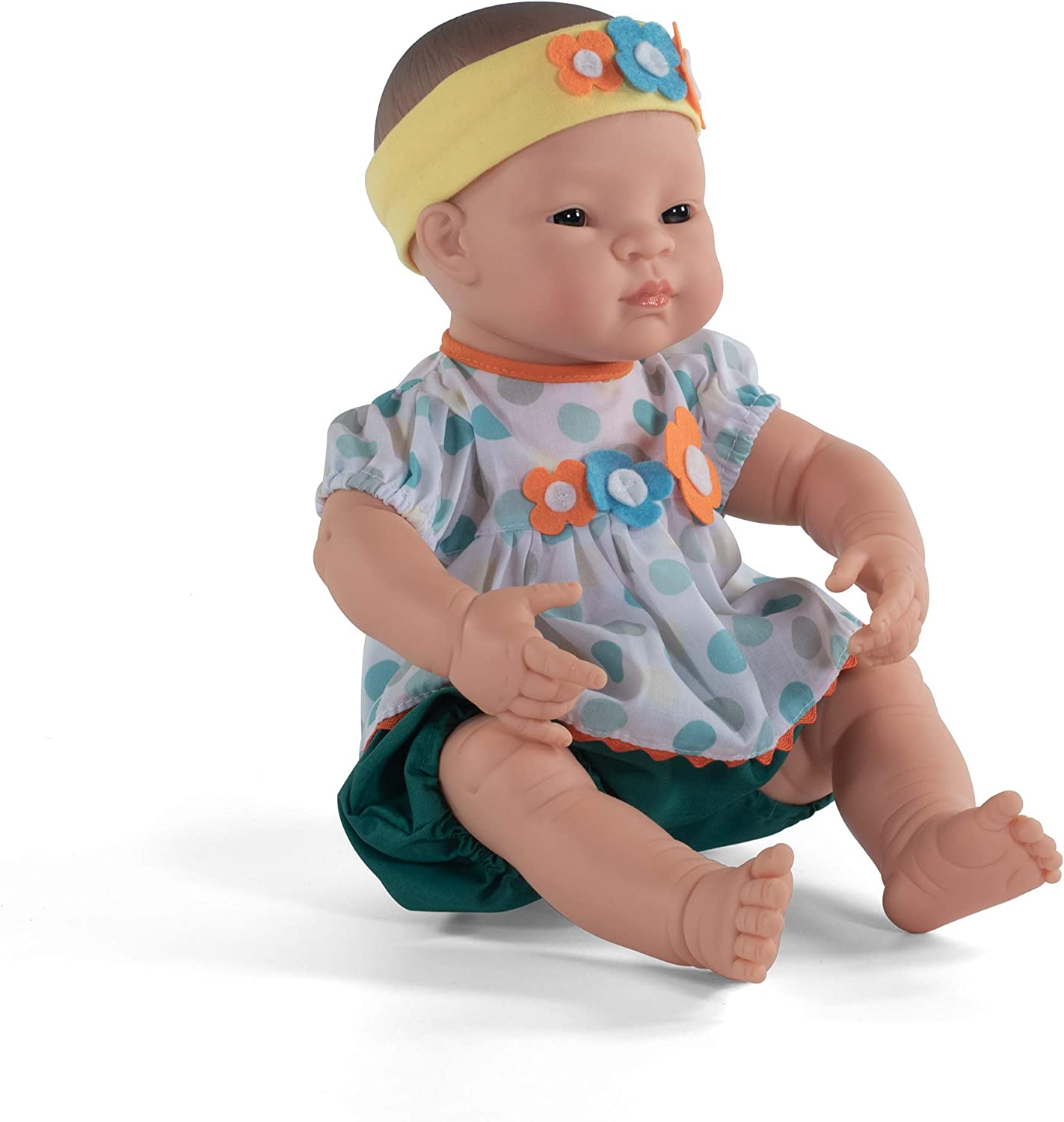 Caucasian Girl 15.75 Anatomically Correct Newborn Baby Doll Miniland Educational