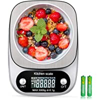 Digital Kitchen Food Scale 3000g/0.1g Multifunction Weight Scale Gram and Ounces, Electronic Jewelry Scale High…