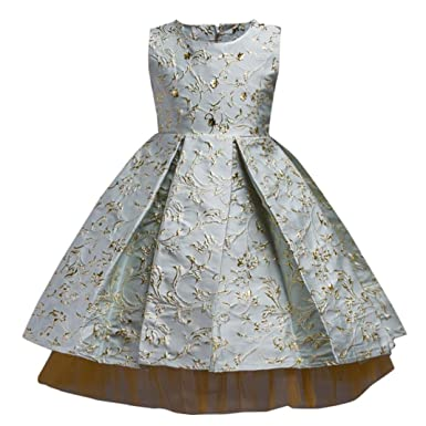 d9ca34947 Cyond Baby Girls Dress 4-11 Years Old New Cute Flower Girl ...